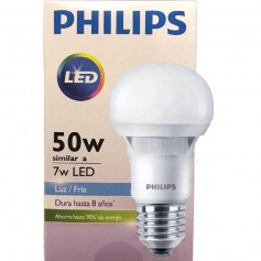 LAMPARA LED PHILLIPS 7W LUZ DIA