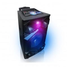 """PARLANTE BLUETOOTH PANACOM SP-1840 THR 840 15"""" FM LED RGB ENT MICROFONO REMOTO 8000W"""