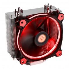 COOLER CPU THERMALTAKE TT 12 RIING SILENT RED LED SOCKET CPU INTEL - AMD 120X120X25