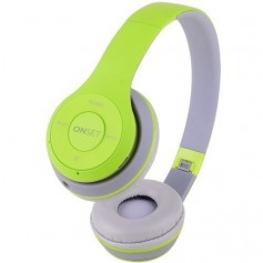 AURICULAR ONSET BT PULSE CON FM GRIS Y VERDE