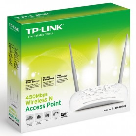Access Point Tp-Link 450Mb Tl-Wa901Nd 3 Antenas Intercambiables