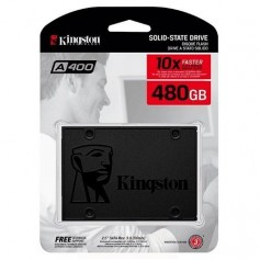 DISCO RIGIDO SOLIDO SSD A400 480GB KINGSTON SATA INTERNO 7MM