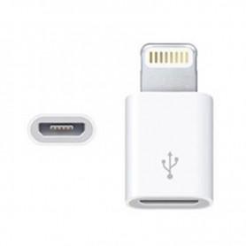 FICHA ADAPTADOR DE MICRO USB HEMBRA A LIGHTNING