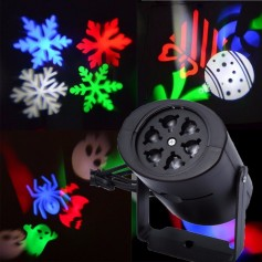 MINI PROYECTOR LED DE FIGURAS RGB