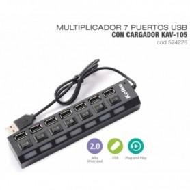 HUB USB KOLKE KAV-105