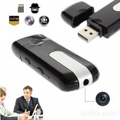 PEN DRIVE MINI CAMARA ESPIA OCULTA SEGURIDAD DVR HD SLIM LITIUM