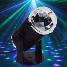 LAMPARA BOLA CON SOPORTE LED RGB EFECTO DJ