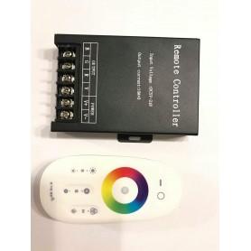 CONTROLADOR RGB 2.4G WIFI 30A METAL CONTROL TACTIL