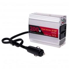 INVERSOR CONVERSOR POWER INVERTER 200W 12V A 220V DY8103
