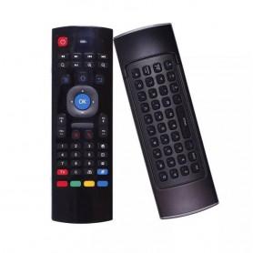 CONTROL REMOTO AIR FLY MOUSE DE MOVIMIENTO TECLADO SMART TV KP27R