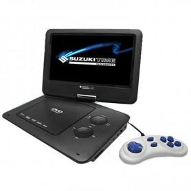 "REPRODUCTOR DVD PORTATIL 7"" SUZUKI DVP-720G USB /SD/JUEGOS"