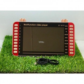 PANTALLA PORTATIL VIDEO PLAYER 7 PULGADAS XY-815/9 USB/FM