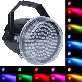 FLASH STROBO DE LED 62 LEDS RGB