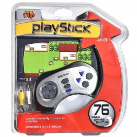 CONSOLA PLAYSTICK LEVEL UP CON 76 JUEGOS FAMILY SALIDA RCA