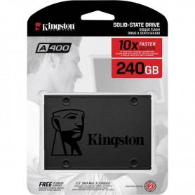 DISCO RIGIDO SOLIDO SSD A400 240GB KINGSTON SATA INTERNO 7MM