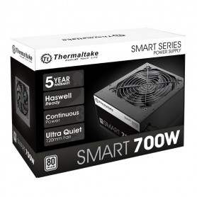 FUENTE THERMALTAKE SMART 700W WHITE 80 PLUS