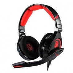 AURICULAR THERMALTAKE TT CRONOS BLACK LED RED CON MICROFONO GAMER