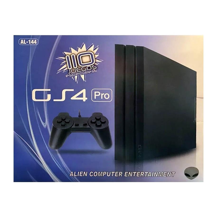 Consola Gs4 Pro Family Con Joystick 110 Juegos Pistola Game Formato Ps4