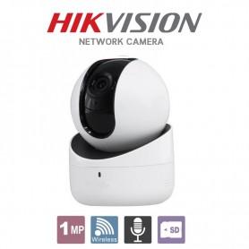 CAMARA IP HIKVISION MOVIMIENTO Q1 DS-2CV2Q01FD-IW DOMO PT MINI PAN-TILT 1280X720p