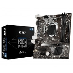 MOTHER MSI H310M PRO-VH-LA SOCKET 1151 PARA 8VA GENERACION DDR4 HDMI VGA USB 3.0