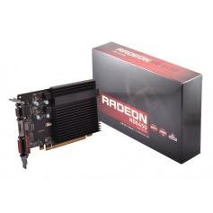 PLACA VIDEO XFX RADEON HD 6450 CORE EDITION 2GB DDR3 VGA DVI HDMI SILENT