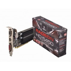 PLACA VIDEO XFX RADEON HD 5450 1GB DDR3 2.8GB HYPERMEMORY LOW PROFILE HDMI