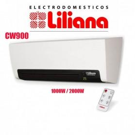 TURBO CALEFACTOR LILIANA TIPO SPLIT 2000 WATTS CW900 CALOVENTOR CONTROL REMOTO Y DISPLAY