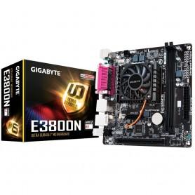 MOTHERBOARD CON MICRO PROCESADOR GIGABYTE MINI ITX GA E3800N 1.3GHZ
