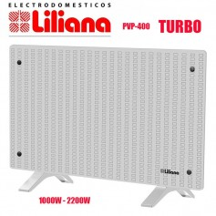 PANEL VIDRIO TURBO CALEFACTOR LILIANA CONFORTDECO PPV400 1000W 2200W
