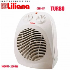 CALOVENTOR LILIANA HOT WIND CFH417 TERMOSTATO 1000W 2000W