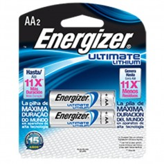 PILA AA LITHIUM ULTIMATE ENERGIZER BLISTER X2