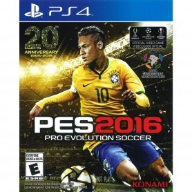 JUEGO PS4 PES 2016 PRO EVOLUTION SOCCER