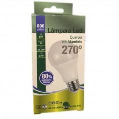 LAMPARA BULBO LED ROSCA E27 10W LUZ DIA