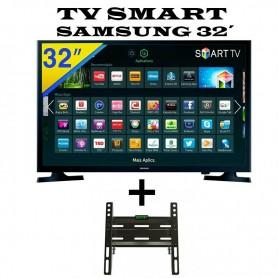 SMART TV 32´ PULGADAS + SOPORTE DE REGALO SAMSUNG NETFLIX YOUTUBE