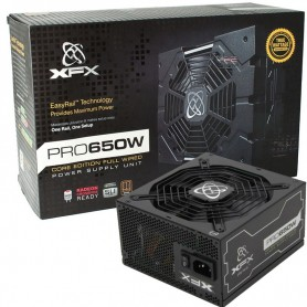 FUENTE PC XFX PRO650W REALES 80 PLUS BRONZE FULL WIRED PSU
