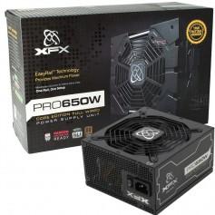 FUENTE PC XFX PRO650W REALES 80 PLUS BRONZE FULL WIRED PSU