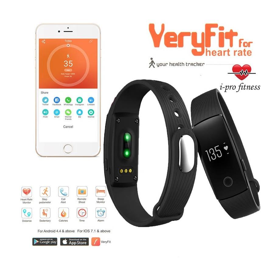 Smart Inteligente Ios Veryfit Fit Pulsos Watch Band Cardio Android Celular Reloj rWdeQoxCB