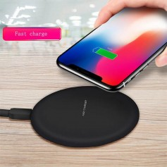 Cargador Inalambrico Qi Carga Rapida D6 Iphone 8 Y X Wireless