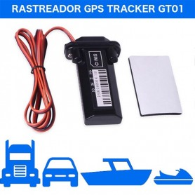 GPS TRACKER RASTREADOR GT01 LOCALIZADOR MOVIL + CABLE 12V