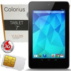 TABLET 7 PULGADAS 3G COLORIUS VOLCAN C070WH