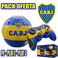 JOYSTICK INALAMBRICO BOCA PS2 PS3 Y PC + PELOTA N°2