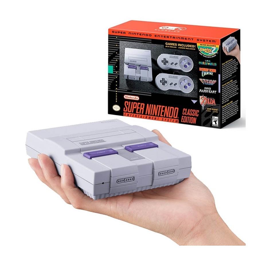 Consola De Juegos Super Nintendo Mini Snes Classic Edition 21 Juegos