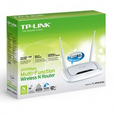 ROUTER TP-LINK TL-WR842ND WIRELESS DOBLE ANTENA