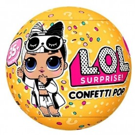 MUÑECA LOL SURPRISE CONFETTI POP SERIE 3 ORIGINAL