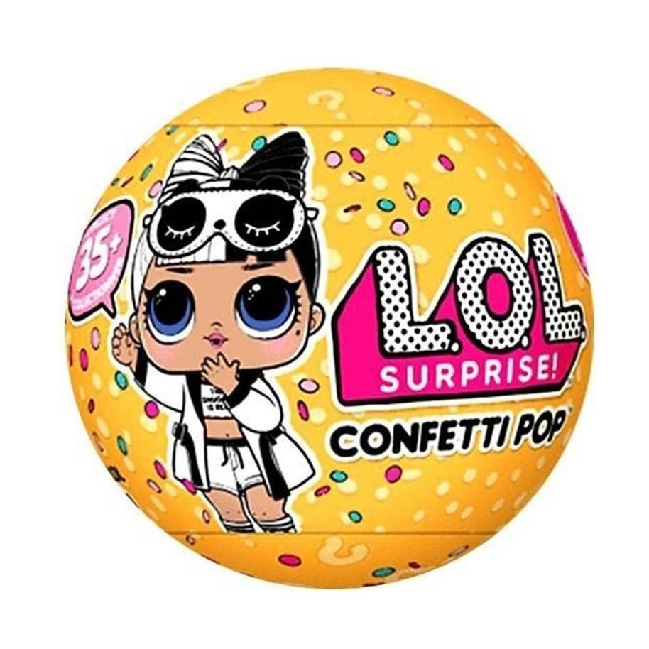 Смешной, картинки с конфетти поп