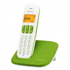 TELEFONO INALAMBRICO ALCATEL DELTA 180 ALTAVOZ 50NUMEROS ID COLOR VERDE