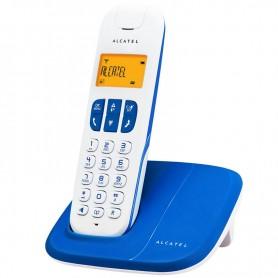 TELEFONO INALAMBRICO ALCATEL DELTA 180 ALTAVOZ 50NUMEROS ID COLOR AZUL