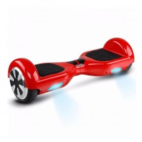 HOVERBOARD SKATE ELECTRICO 700W OVERTECH 12KM/H RED