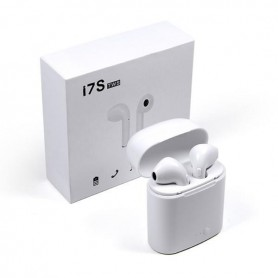 AURICULAR BLUETOOTH DOBLE I7 TWS IN EAR PODS IMITACION AIRPODS MICROFONO