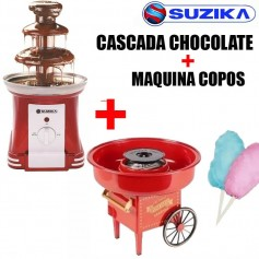 COMBO COPO DE AZUCAR + CASCADA CHOCOLATE SUZIKA LOCAL